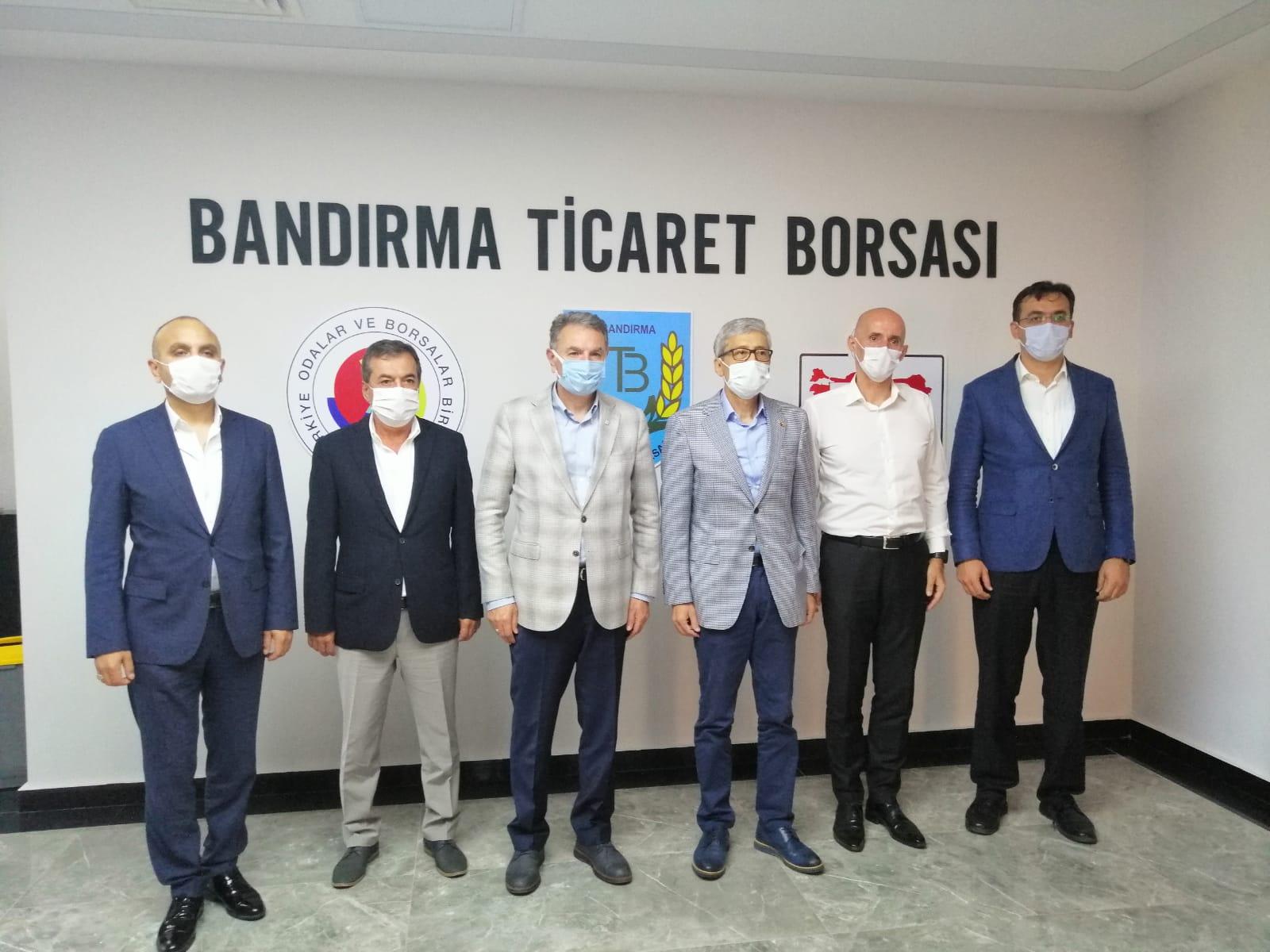 TMO GENEL MÜDÜRÜ GÜLDAL BORSAMIZI ZİYARET ETTİ.