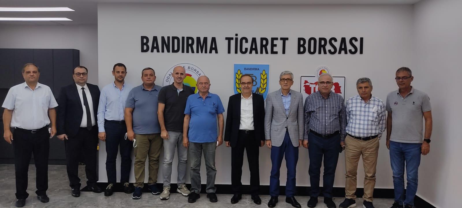 BALIKESİR SANAYİ ODASI'NDAN BORSAMIZA ZİYARET